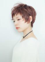 ショートレイヤー(髪型ショートヘア)