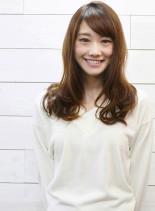 ラフカールくびれミディ♪(髪型ロング)