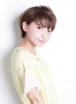 シースルーショート(髪型ショートヘア)