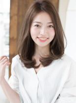 ひし形ワンカール(髪型ロング)