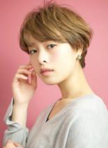 黄金バランス☆『ゆるふわショートボブ』(髪型ショートヘア)