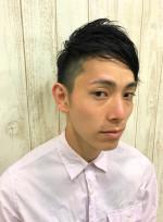 カジュアルショート(髪型メンズ)