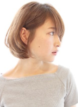 オトナ女性に人気ワンカール耳かけボブ(髪型ボブ)