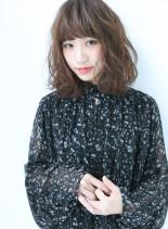 オシャレカジュアルミディ(髪型ミディアム)