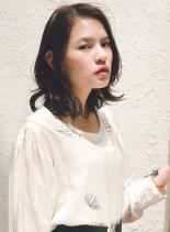 パーマボブ(髪型ミディアム)