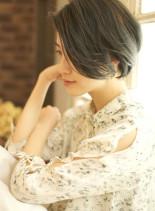ハニーヘアでエフォーレストなショート☆(髪型ショートヘア)