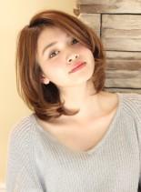 【30代40代】大人女性の為のミディ(髪型ミディアム)