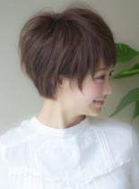 ショートで大事なシルエット調節(髪型ショートヘア)