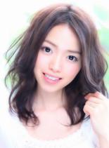 ☆ゆる巻きセミロング☆(髪型セミロング)