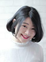 ☆ナチュラルフェミニンBOB☆(髪型ボブ)