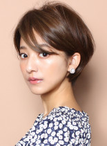 ☆手で乾かすだけ☆大人マニッシュショート(髪型ショートヘア)
