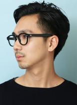大人のソフトツーブロックヘア★(髪型メンズ)