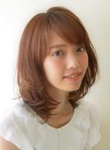 30、40代からの大人めミディ(髪型ミディアム)