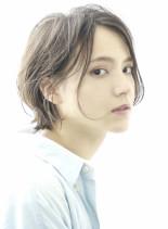 ☆大人のセミウェットショートボブ☆(髪型ボブ)