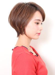 美シルエット☆大人の前下がりショートボブ(ビューティーナビ)