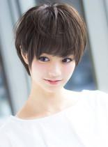 ボリュームアップショートヘア(髪型ショートヘア)