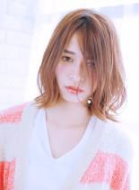 外ハネボブ(髪型ミディアム)