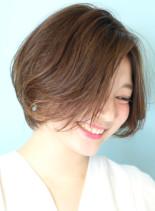大人綺麗なショートボブ☆☆☆(髪型ショートヘア)