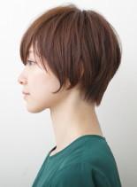 大人のナチュラルショート(髪型ショートヘア)