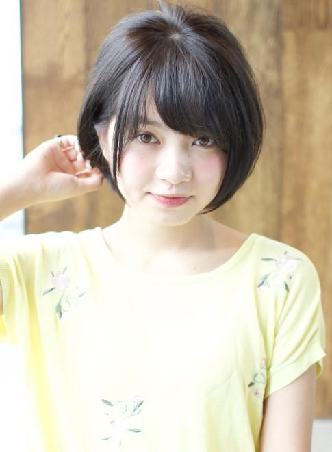 トップボリューム小顔ショート(髪型ショートヘア)