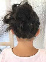 子どもヘアアレンジ(髪型ボブ)