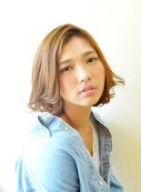 ヘルシーフェミニンボブ(髪型ボブ)