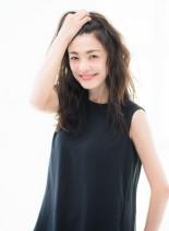 オトナ・グレイカラー・オーガニックカラー(髪型ロング)