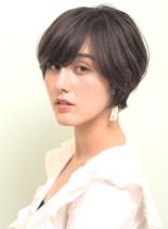 大人キレイなショート(髪型ショートヘア)
