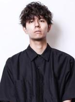 ★ネープレスニュアンスパーママッシュ★(髪型メンズ)
