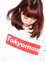 ファストブリーチ+ローズベリー(髪型ミディアム)