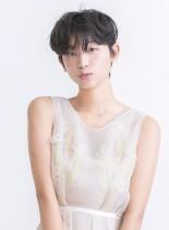 柔らかい丸みのマッシュルームショート☆(髪型ショートヘア)