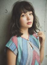 ゆるふわ☆波ウェーブ(髪型ミディアム)