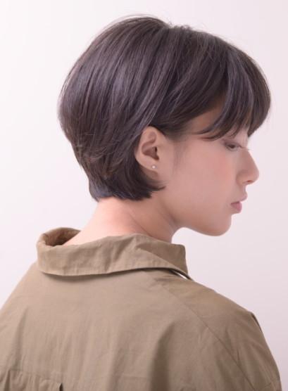 ふんわりフィットする大人ショートボブ(髪型ショートヘア)