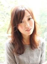 ☆大人愛されブラウンセミロング☆(髪型セミロング)