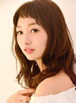 ショートバング☆フェミ二ティロング(髪型ロング)