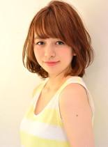 外国人風大人可愛い☆ミディアムボブ(髪型ボブ)