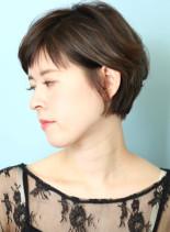 毛流れが綺麗なショートヘアー☆(髪型ショートヘア)