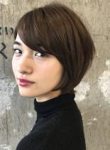 ☆カットで作れる☆大人レイヤーショート(髪型ショートヘア)
