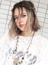 ミルフィーユグラデーション(髪型ミディアム)