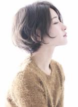 ☆シルエットの綺麗な大人のボブ☆(髪型ショートヘア)