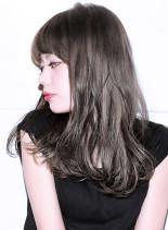 『 カット + デジタルパーマ 』DP9(髪型セミロング)