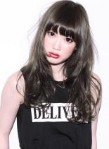 『 カット + デジタルパーマ 』DP7(髪型セミロング)