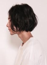 ラフ×ミディアム×オシャレ(髪型メンズ)