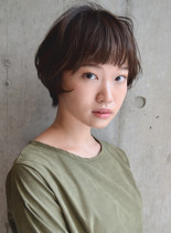 エアリーショートヘア(髪型ショートヘア)