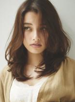 シルキーミディアム(髪型セミロング)