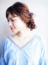 大人の抜け感ヘアセット(髪型ロング)