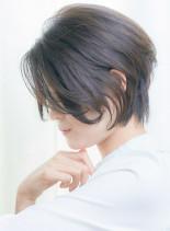 30代40代 大人クラシカルショートボブ(髪型ショートヘア)