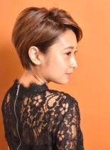大人ショート(髪型ショートヘア)