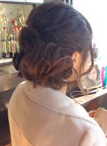 ゆるふわサイドアップ(髪型セミロング)