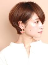 簡単スタイリング☆大人のショートヘア(髪型ショートヘア)